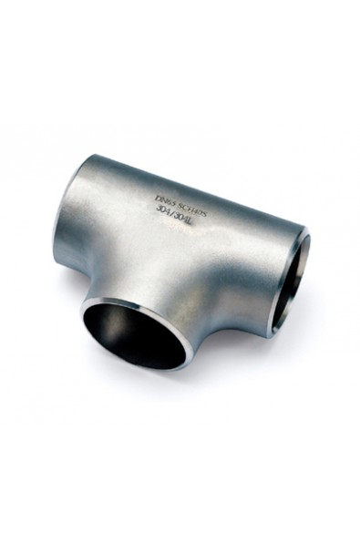 Stainless Steel 304/304L Pipe Fitting, Tee, Butt-Weld, Schedule