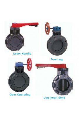 Butterfly valves Spears UPVC & CPVC