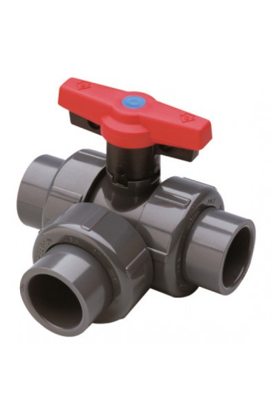 3 Way ball valves UPVC & CPVC (SPEARS)